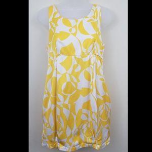 Glam Abstract Pocketed Mini Sheath Dress, S